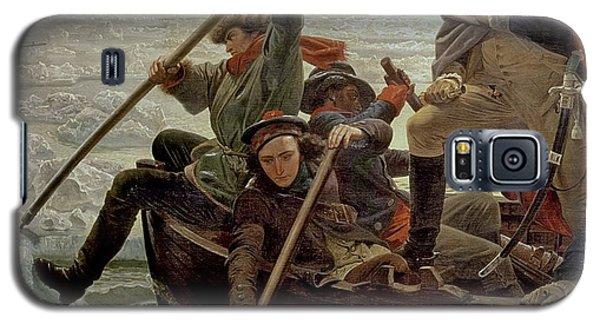 Washington Crossing The Delaware River Galaxy S5 Case by Emanuel Gottlieb Leutze