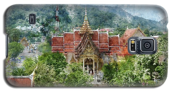 Wat Chalong In Phuket Thailand Galaxy S5 Case