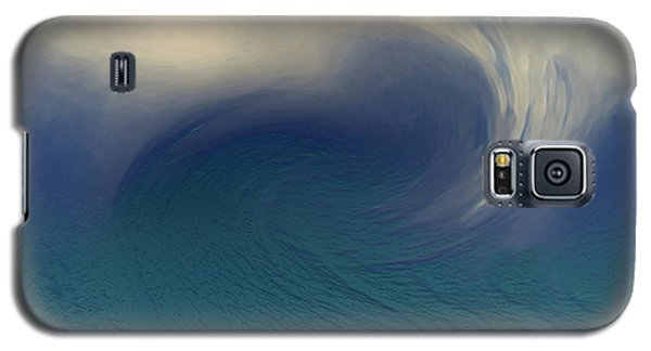 Water And Clouds Galaxy S5 Case by Linda Sannuti