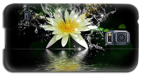 Water Lily Galaxy S5 Case by Gordon Engebretson