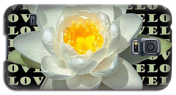 Water Lily Love Galaxy S5 Case by Jeannette Hunt