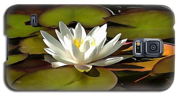 Water Lily Galaxy S5 Case by Sergey Lukashin