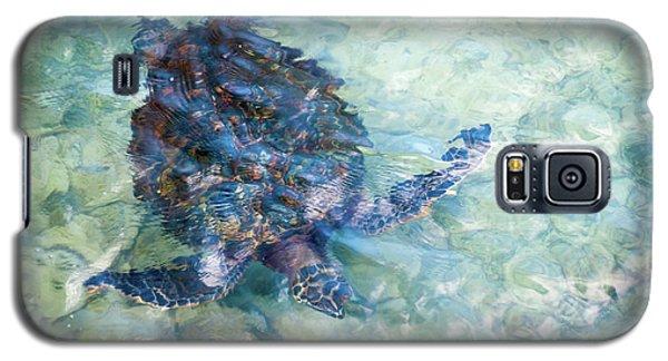 Watercolor Turtle Galaxy S5 Case