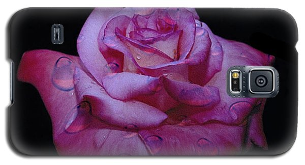 Watered Red Rose Galaxy S5 Case