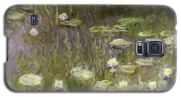 Waterlilies At Midday Galaxy S5 Case by Claude Monet