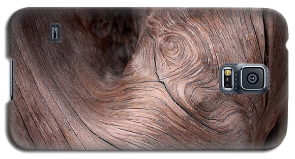 Waves And Wood #2 Galaxy S5 Case