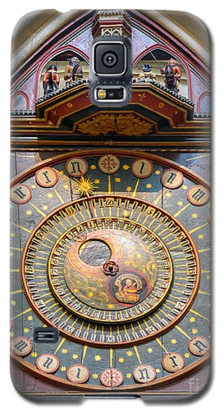 Wells Cathedral Clock Galaxy S5 Case
