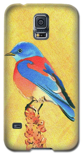 Western Bluebird Galaxy S5 Case