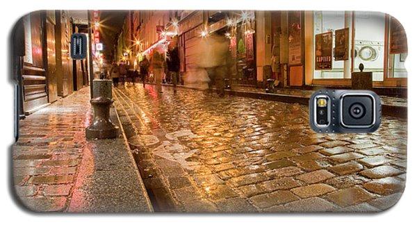 Wet Paris Street Galaxy S5 Case by Matthew Bamberg