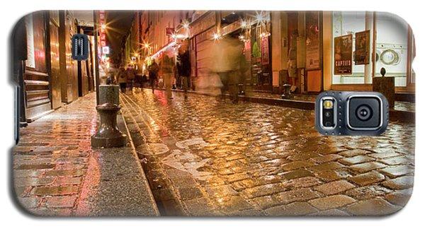 Wet Paris Street Galaxy S5 Case