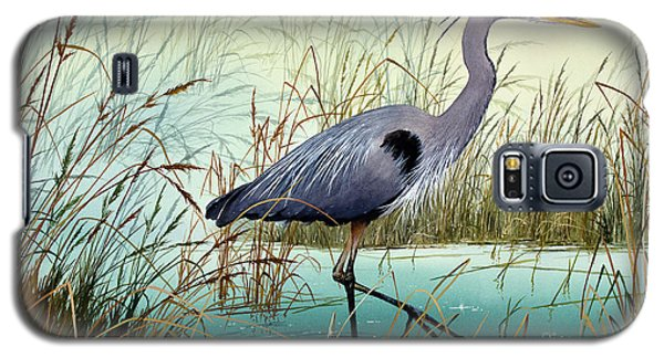 Galaxy S5 Case featuring the painting Wetland Beauty by James Williamson