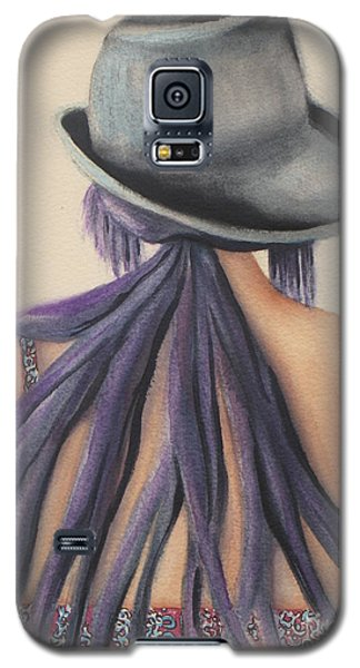 Galaxy S5 Case featuring the painting What Lies Ahead Series   by Chrisann Ellis