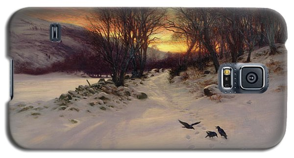 Blackbird Galaxy S5 Case - When The West With Evening Glows by Joseph Farquharson