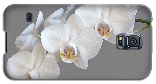 White Orchids Galaxy S5 Case