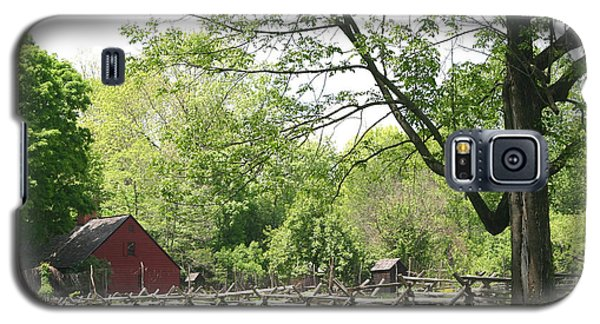 Wick Farm At Jockey Hollow Galaxy S5 Case by Living Color Photography Lorraine Lynch