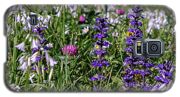 Galaxy S5 Case featuring the photograph Wild Flowers by Patricia Hofmeester