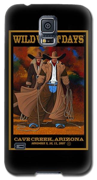 Wild West Days Poster/print  Galaxy S5 Case