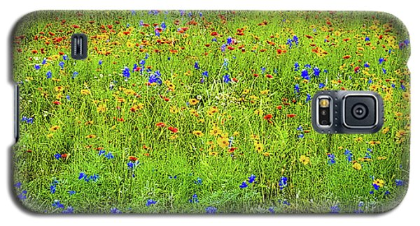 Wildflowers In Bloom Galaxy S5 Case