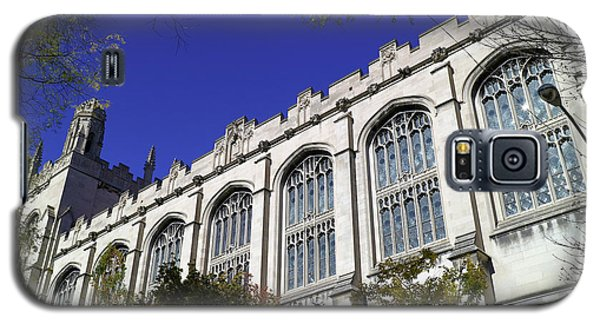 Galaxy S5 Case featuring the photograph William Rainey Harper Memorial Library by Scott Kingery