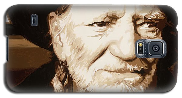 Willie Nelson Galaxy S5 Case by Ashley Price
