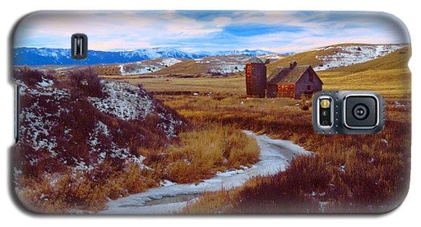 Willow Creek Barn Galaxy S5 Case