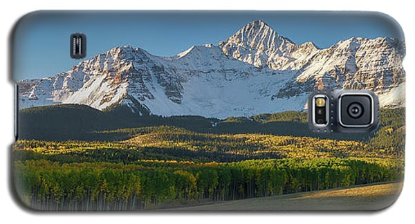 Galaxy S5 Case featuring the photograph Wilson Peak Panorama by Aaron Spong