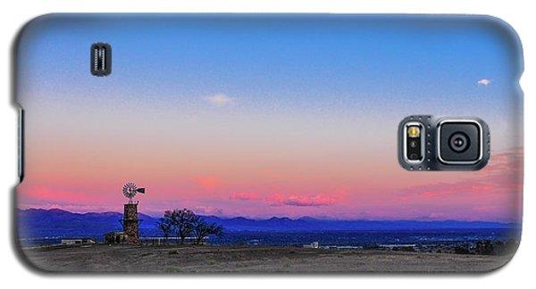 Windmill At Sunrise Galaxy S5 Case