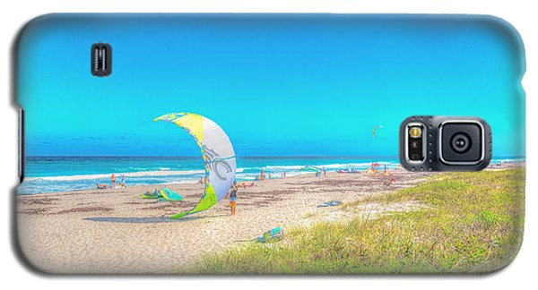 Windsurf Beach Galaxy S5 Case
