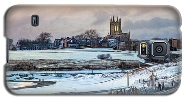 Galaxy S5 Case featuring the photograph Winter Dusk by Robin-lee Vieira
