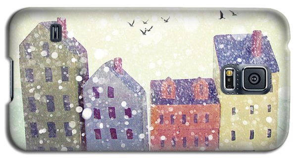 Galaxy S5 Case featuring the photograph Winter In Nantucket by Amy Tyler