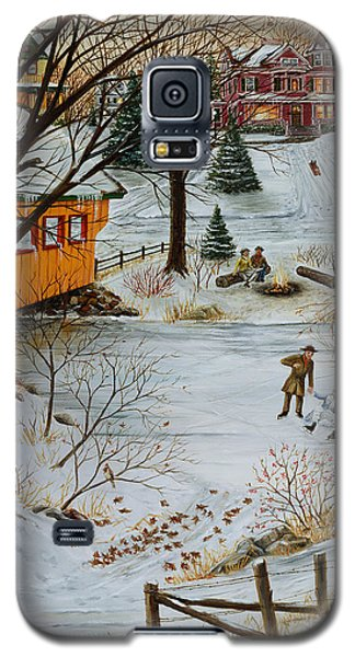 Winter Memories 3 Of 4 Galaxy S5 Case