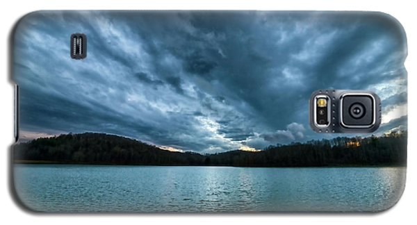 Galaxy S5 Case featuring the photograph Winter Storm Clouds by Thomas R Fletcher