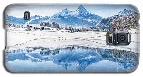 Winter Wonderland In The Alps Galaxy S5 Case
