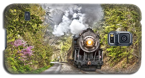 Wmsr Steam Engine 734  Galaxy S5 Case