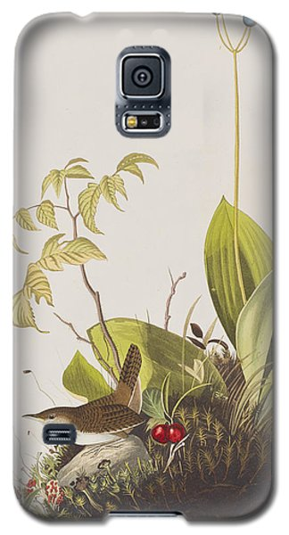 Wood Wren Galaxy S5 Case by John James Audubon