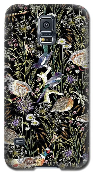 Woodland Edge Birds Galaxy S5 Case