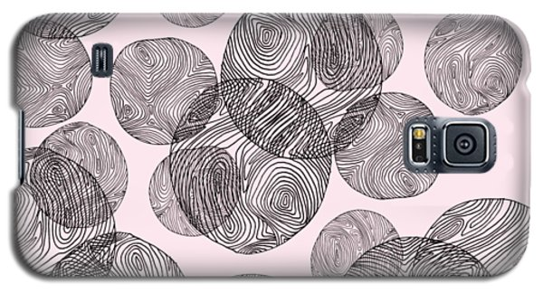 Woodprint Pattern Galaxy S5 Case