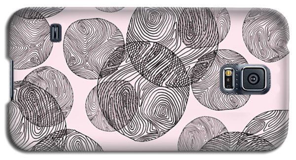 Woodprint Pattern Galaxy S5 Case