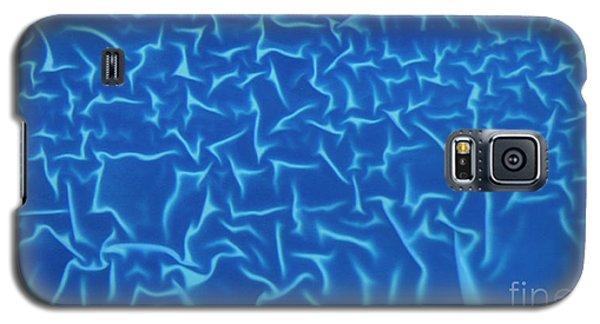 Blue Wrinkles Galaxy S5 Case