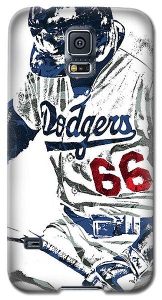 Yasiel Puig Los Angeles Dodgers Pixel Art Galaxy S5 Case