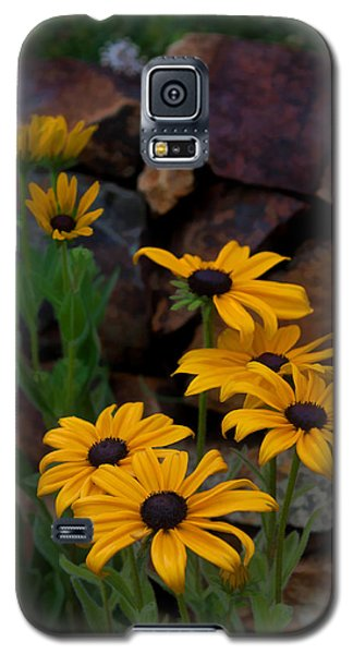 Galaxy S5 Case featuring the photograph Yellow Beauty by Cherie Duran