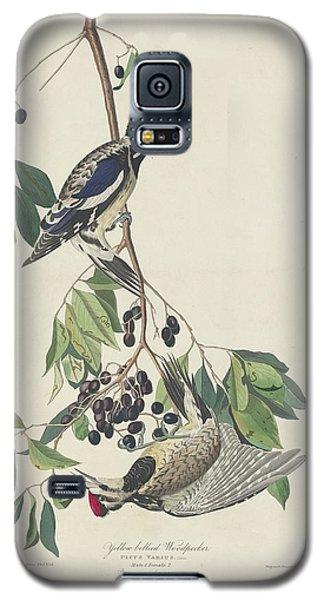 Yellow-bellied Woodpecker Galaxy S5 Case by John James Audubon