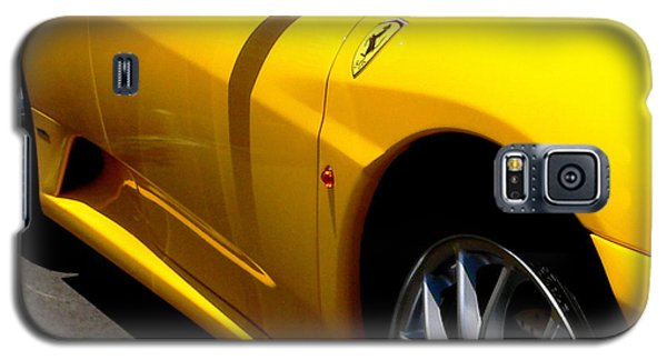 Yellow Ferrari Galaxy S5 Case