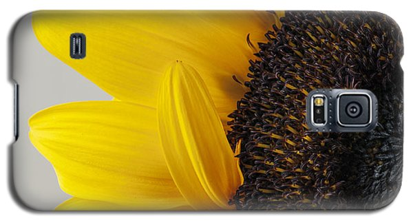 Yellow Sunflower Photograph Galaxy S5 Case