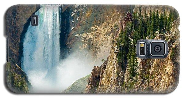 Yellowstone Waterfalls Galaxy S5 Case by Sebastian Musial