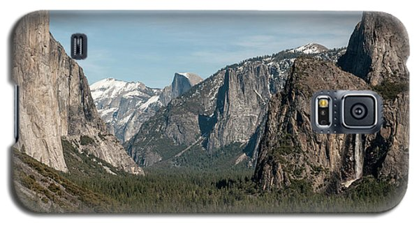 Galaxy S5 Case featuring the photograph Yosemite Valley Afternoon by Sandra Bronstein