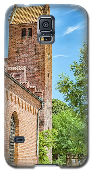 Galaxy S5 Case featuring the photograph Ystad Monastery In Sweden by Antony McAulay