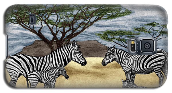 Zebra African Outback  Galaxy S5 Case