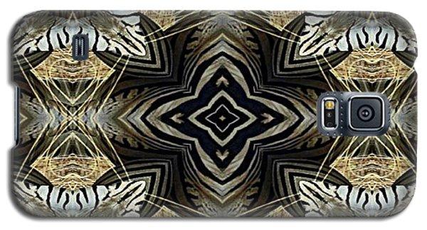 Zebra V Galaxy S5 Case by Maria Watt