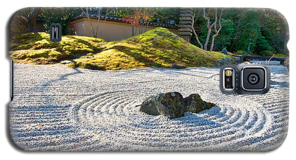 Zen Garden At A Sunny Morning Galaxy S5 Case
